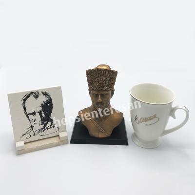 asker Atatürk üçlü set