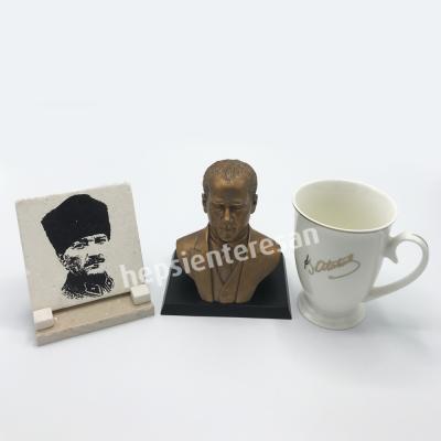 cumhurbaşkanı Atatürk üçlü set