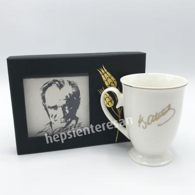 imzalı Atatürk ikili set