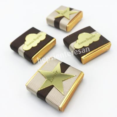 kişiye özel tek erkek bebek çikolataları (10 adet)