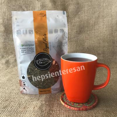 Farmasi nutriplus nutritea royal mate karışık bitki çayı seti