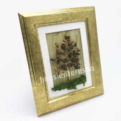 kaplangözü taşlı hayat ağacı tablo ve mumları