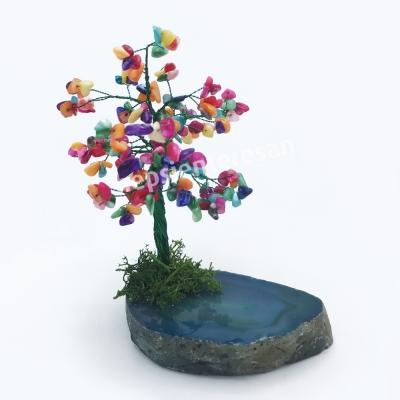 renkli hayat ağacı