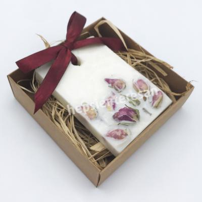 el yapımı kuru çiçekli sabun (50 adet)