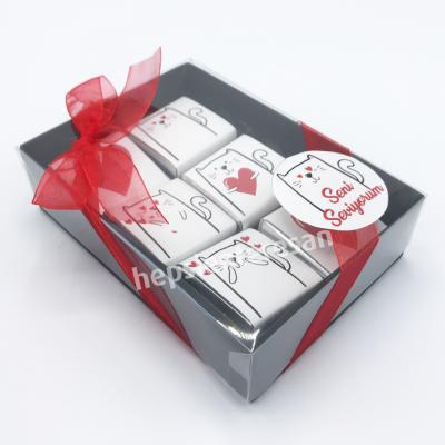 sevgilisi kedi sevenlere özel çikolatalar
