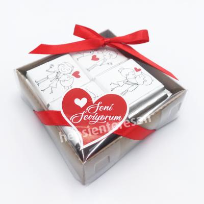 sevgiliye özel mini çikolatalar