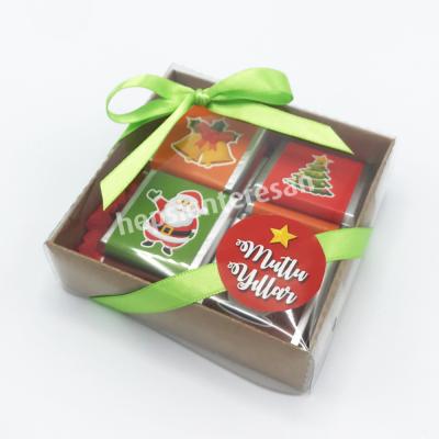 yılbaşına özel mini çikolatalar