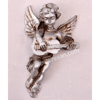 gümüş görünümlü melek 4