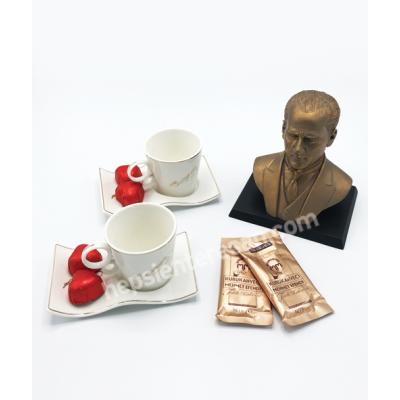 Atatürk ile kahve keyfi